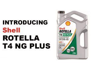 Introducing Shell Rotella T4 NG PLus 15W-40