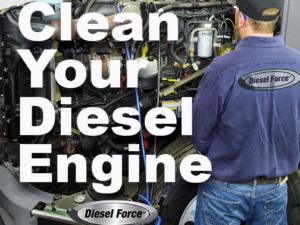 Diesel Force Maintenance Program: The key to a clean diesel engine