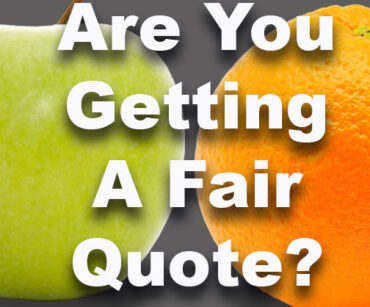 Are you getting a fair & accurate quote?